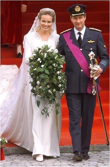 ... of Sartorial Splendor: Wedding Wednesday: Princess Mathildes Gown