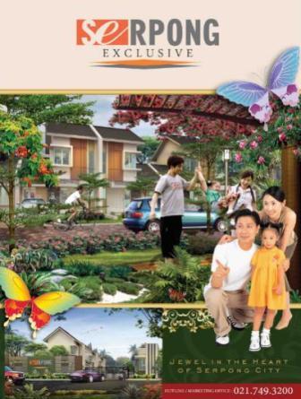 Serpong Exclusive Perumahan Terbaru di Cisauk