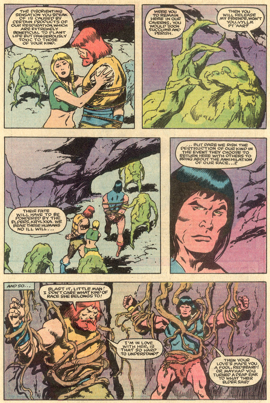 Conan the Barbarian (1970) Issue #163 #175 - English 21