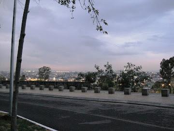 Desde el cerro de Loreto, Puebla