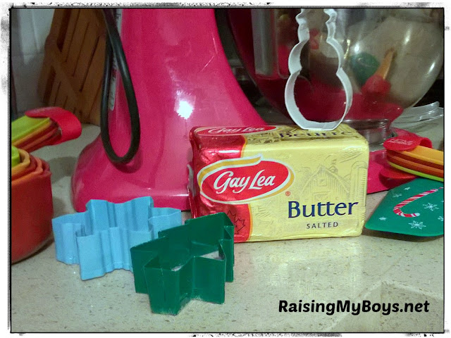Gay Lea butter and cookie cutters