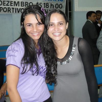 Francielle Miranda e Alugiana