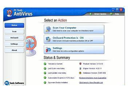 AntiVirus Terbaik PC Tools