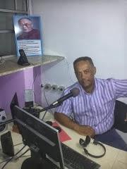 José Ribeiro na Rádio Clube