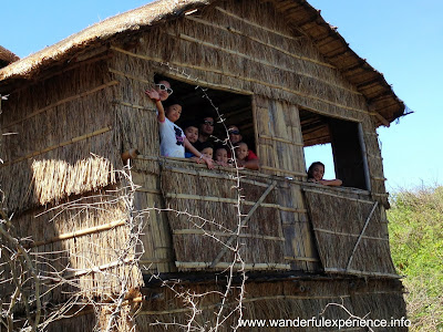 Nipa hut overlooking the beach