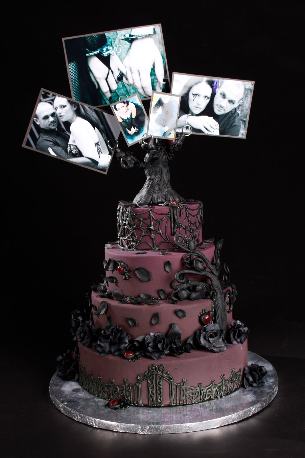 Keepsake Cakes And Pastries Gothic Wedding Cake