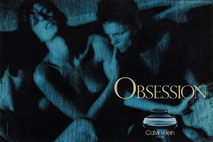 Obsession campaign photographed by Richard Avedon 1985 / fashioned by love