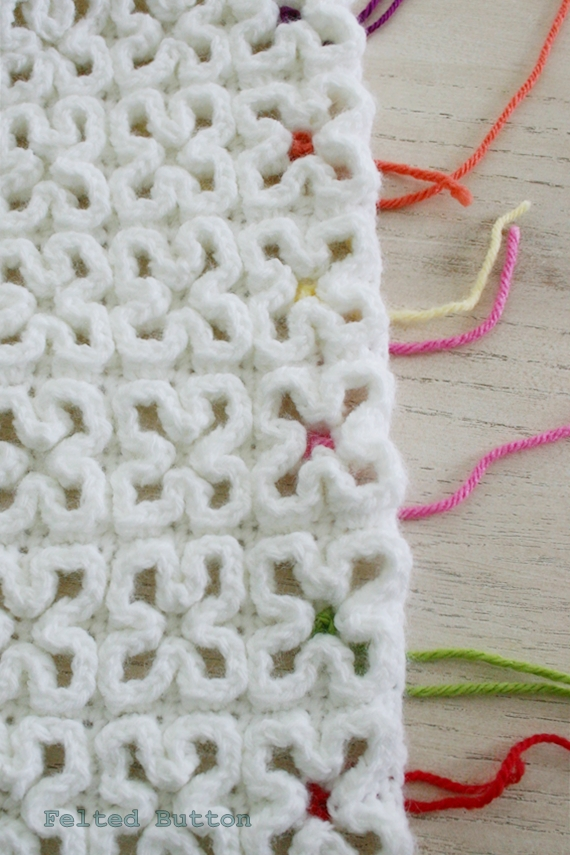 Felted Button - Colorful Crochet Patterns: ::Crazy-Good::