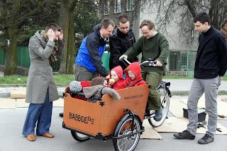 rower towarowy cargo do przewozu dzieci