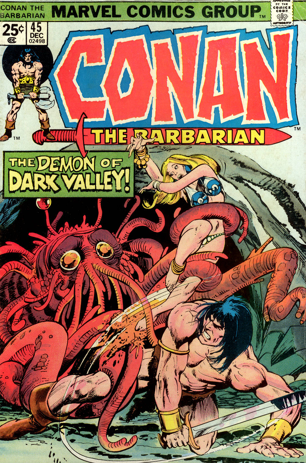 Conan the Barbarian (1970) 45 Page 1