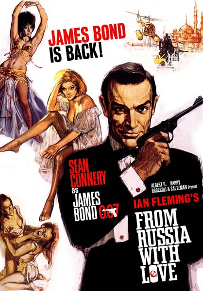 ... Guide to Nearly Everything: [Movies] From Russia With Love (1963