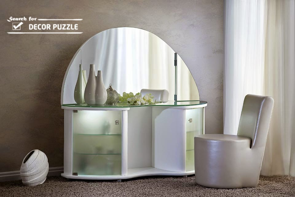 modern white dressing table designs for bedroom. Latest Modern dressing table designs for contemporary bedroom