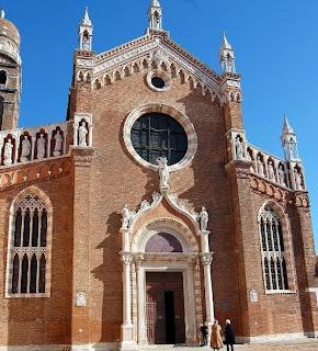 Iglesia della Madonna dell`Orto - Venecia. Virgen del Huerto