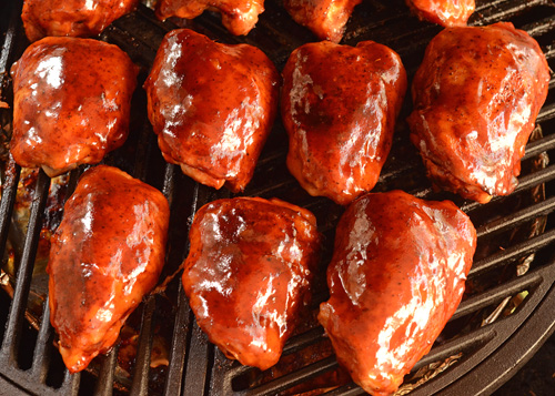 BBQ competition chicken