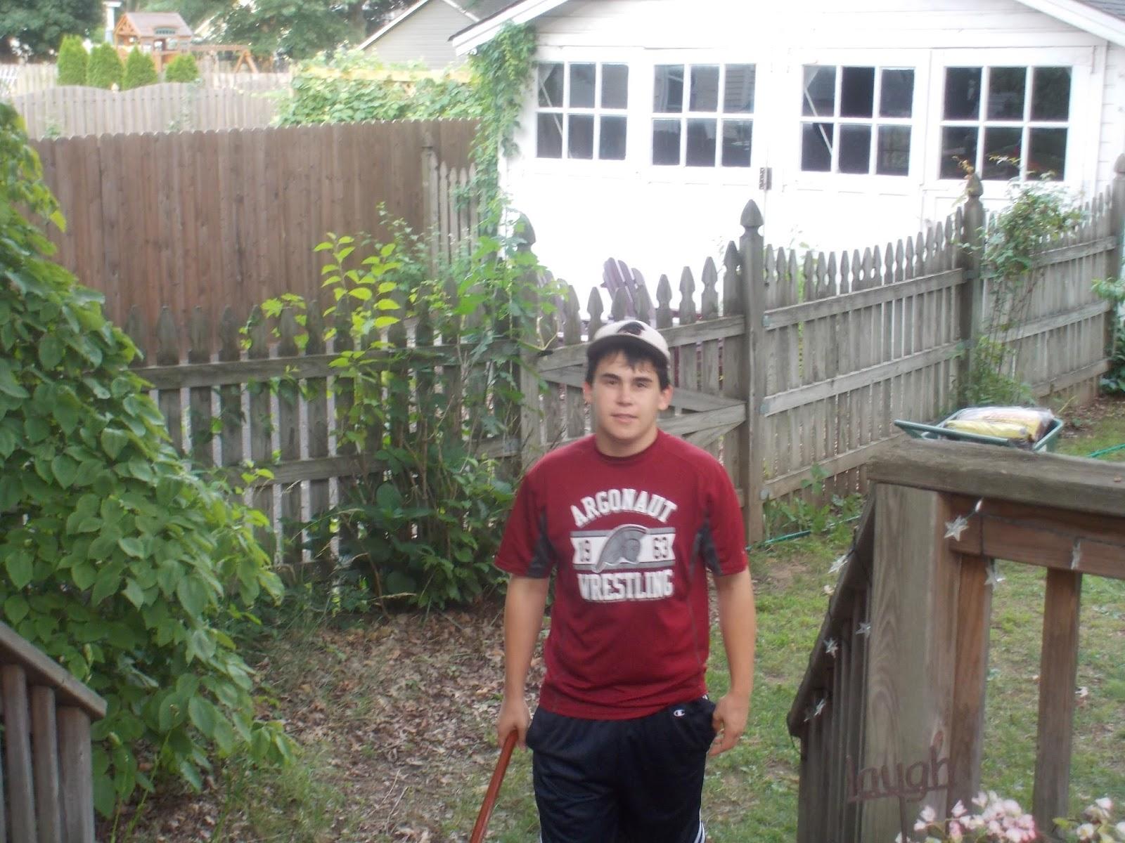 sassafras mama on backyards and little boys