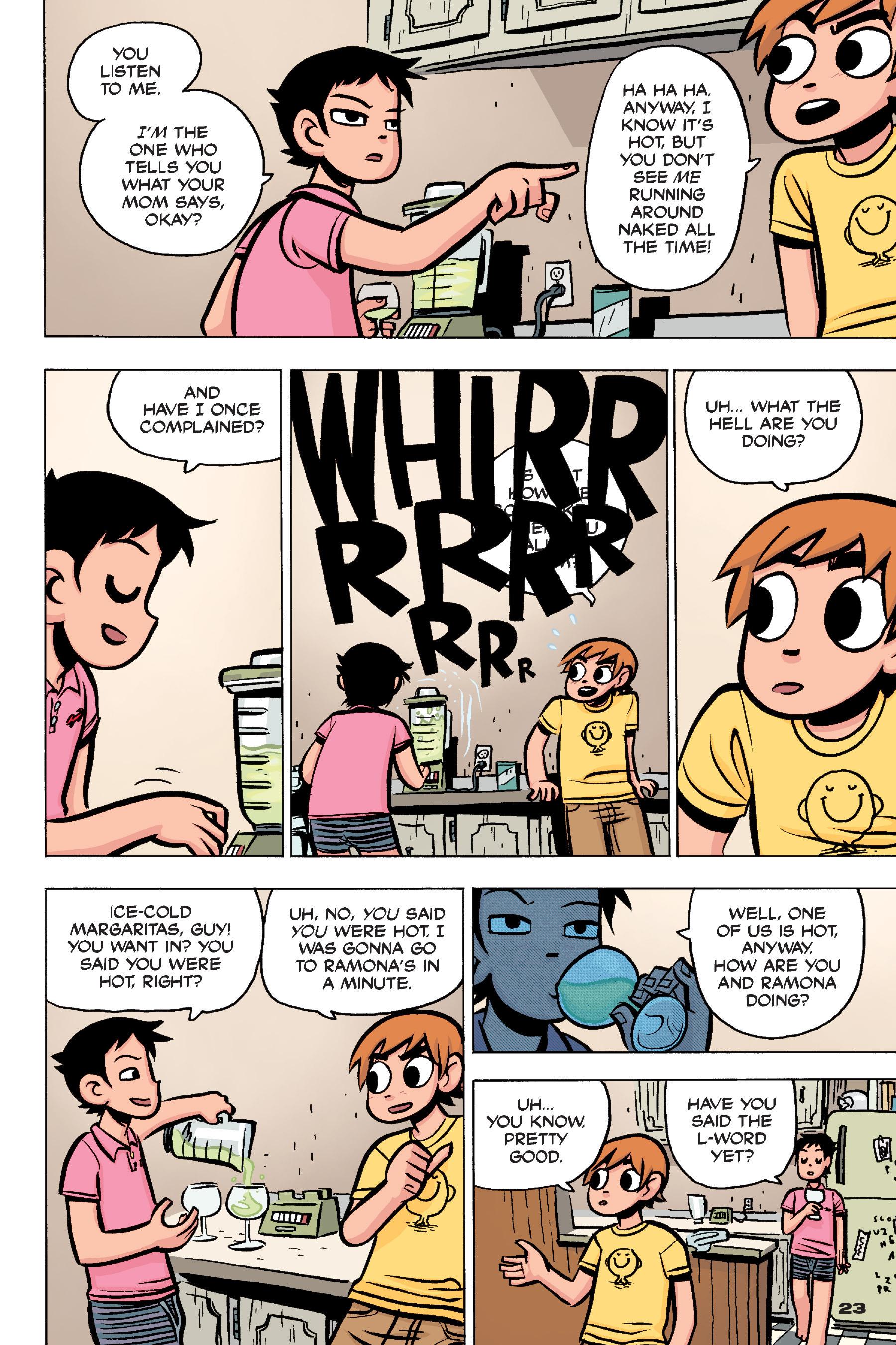 Read online Scott Pilgrim comic -  Issue #4 - 22