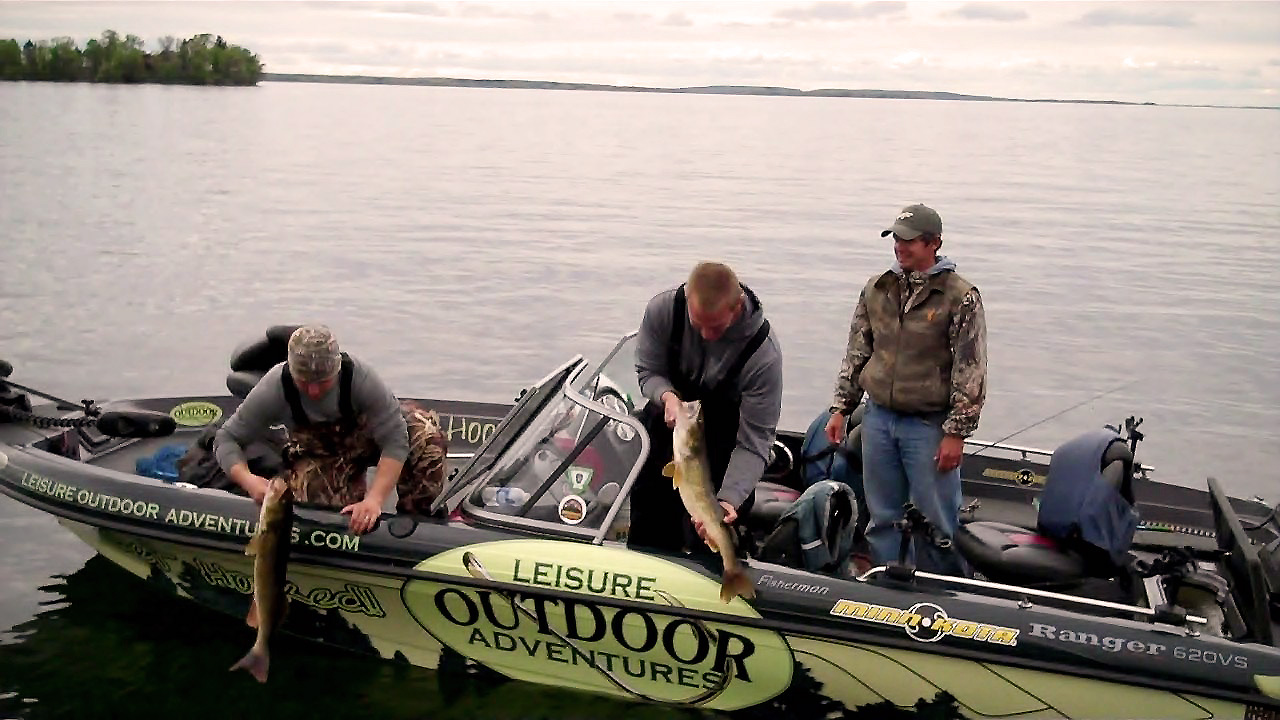 Leisure outdoor adventures gull lake and leech lake for Leech lake fishing reports