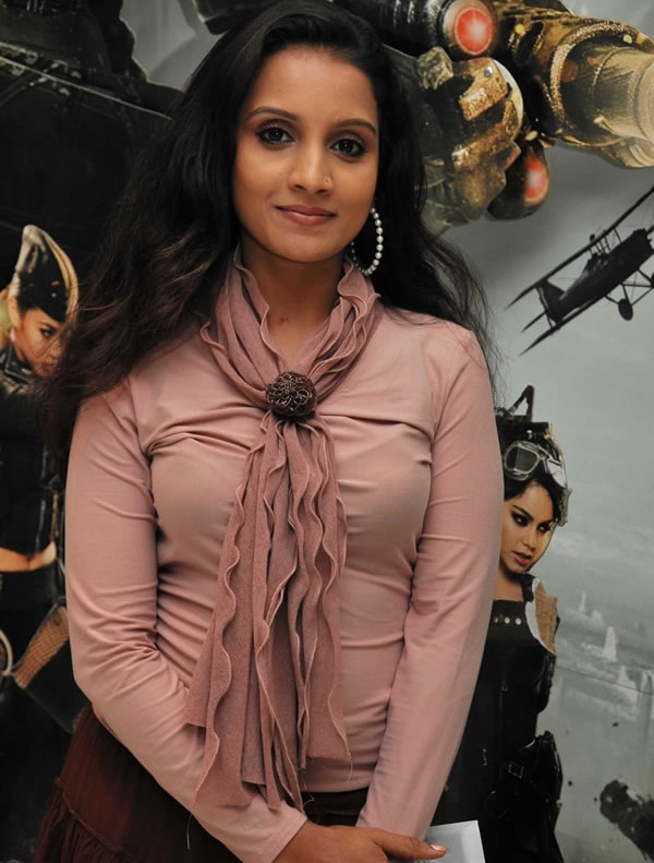 Tamil Ammu Tv Actress in Sucker Punch Hollywood Movie Premiere Stills