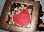 Coklat Box Love saiz ' L'