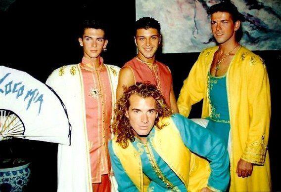Loco mia 1993 for Blanca romero grupo musical
