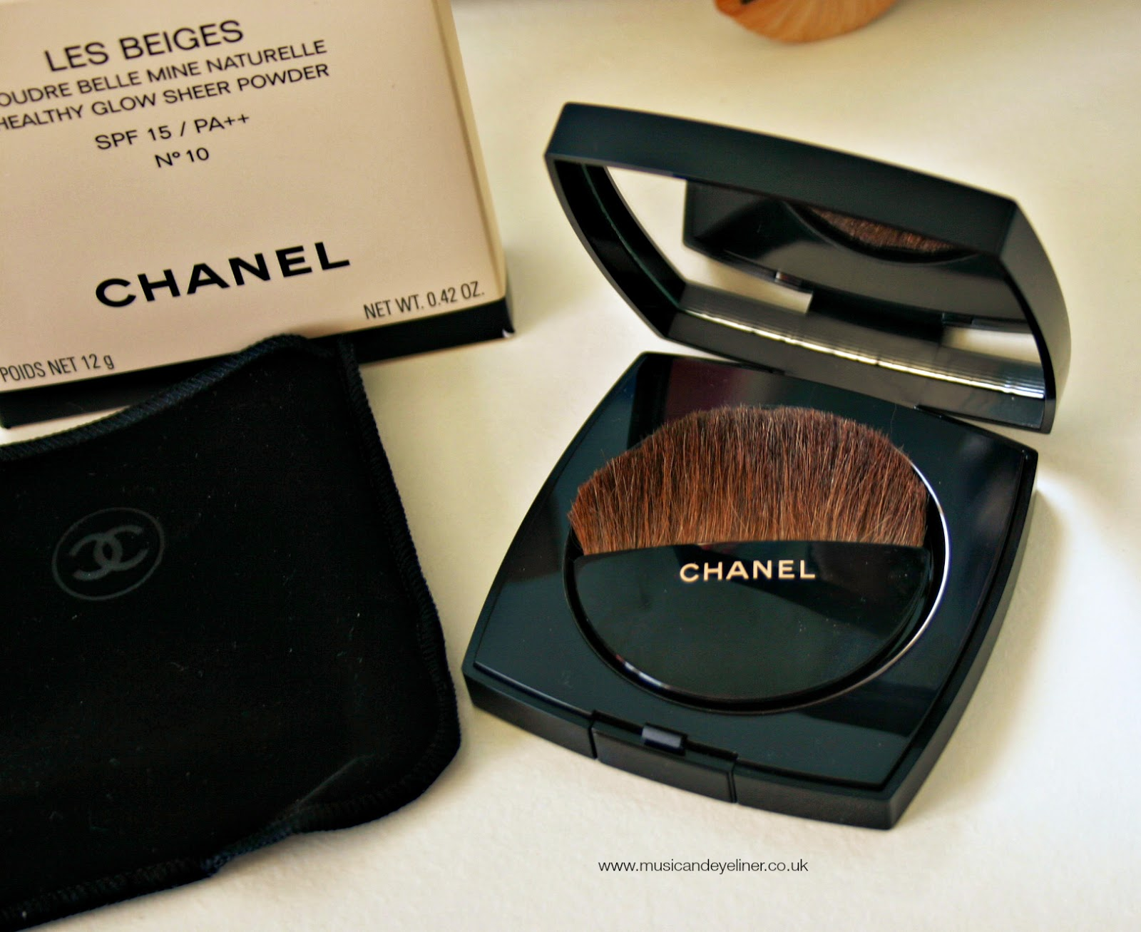 Photo of the chanel les beiges belle mine healthy glow powder on www.musicandeyeliner.co.uk