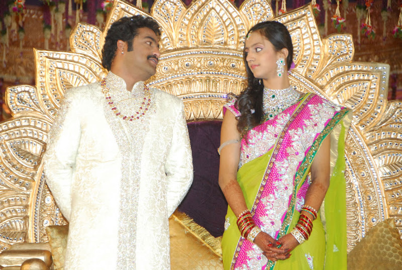 Celebrities  Jr NTR  Pranathi s Marriage hot images