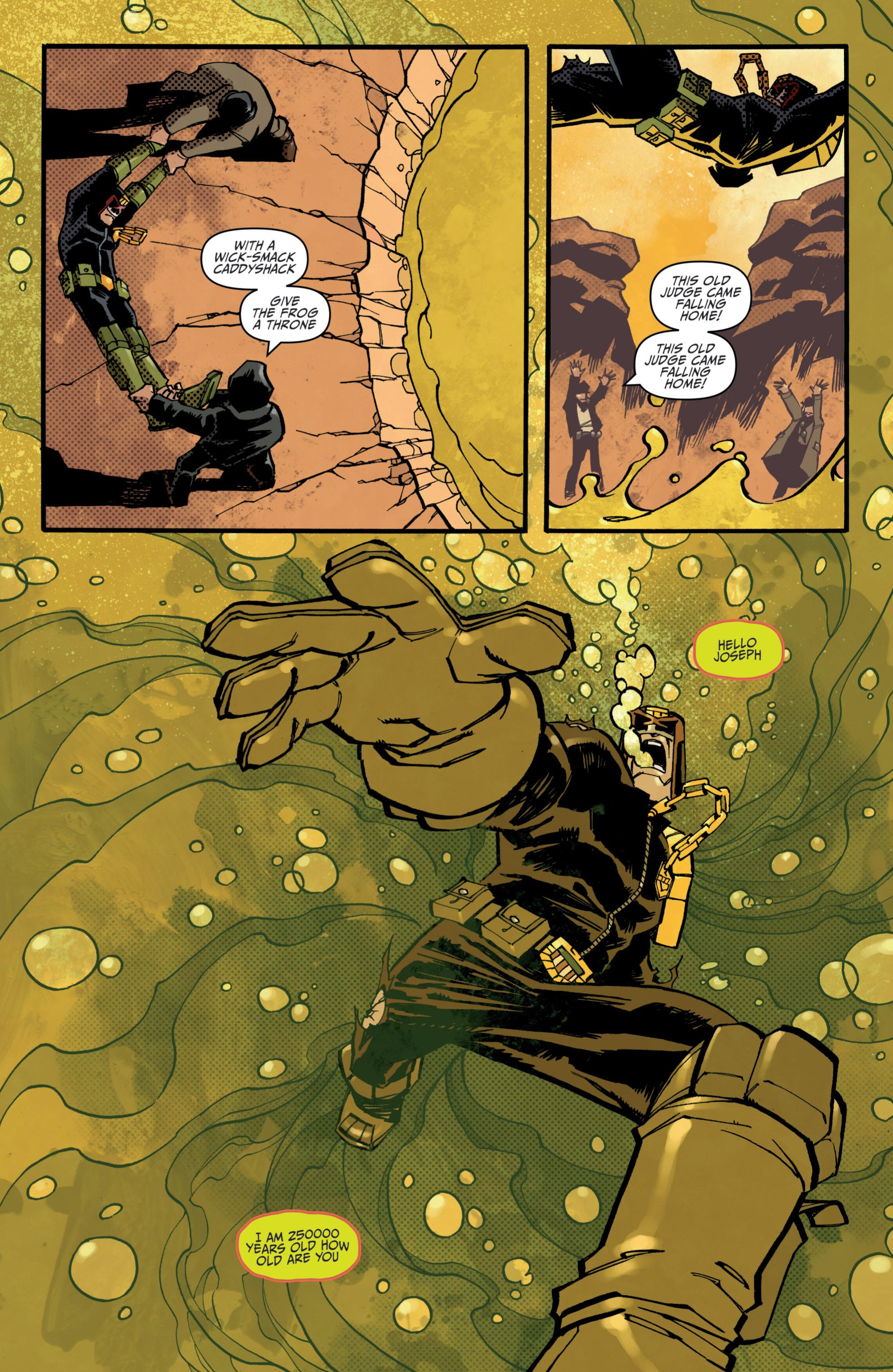 Read online Judge Dredd (2012) comic -  Issue # _TPB 3 - 67