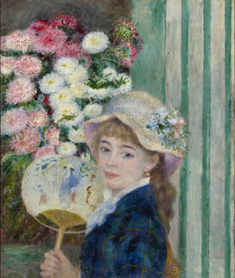 Pierre-Auguste Renoir: Girl with a Fan, c. 1879