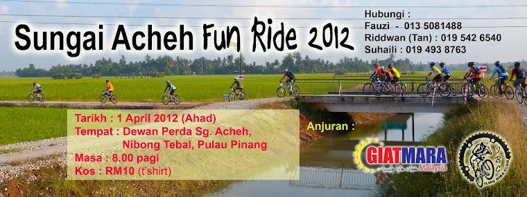 Sungai Acheh Fun Ride 1 April 2012