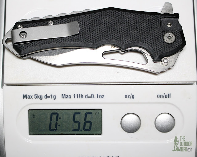 Lansky LKN111 Pocket Knife - On Scale