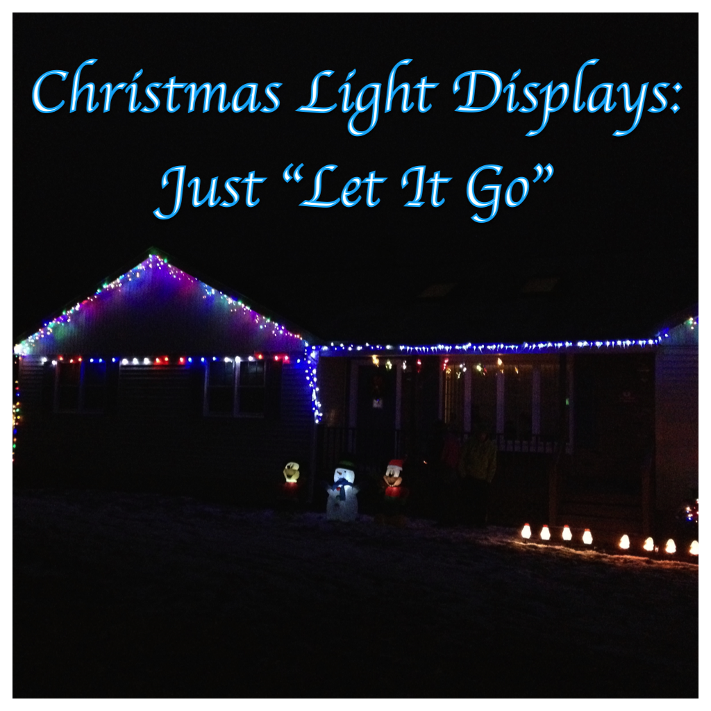 My Disney Life Fun Find Christmas Light Displays Let It Go