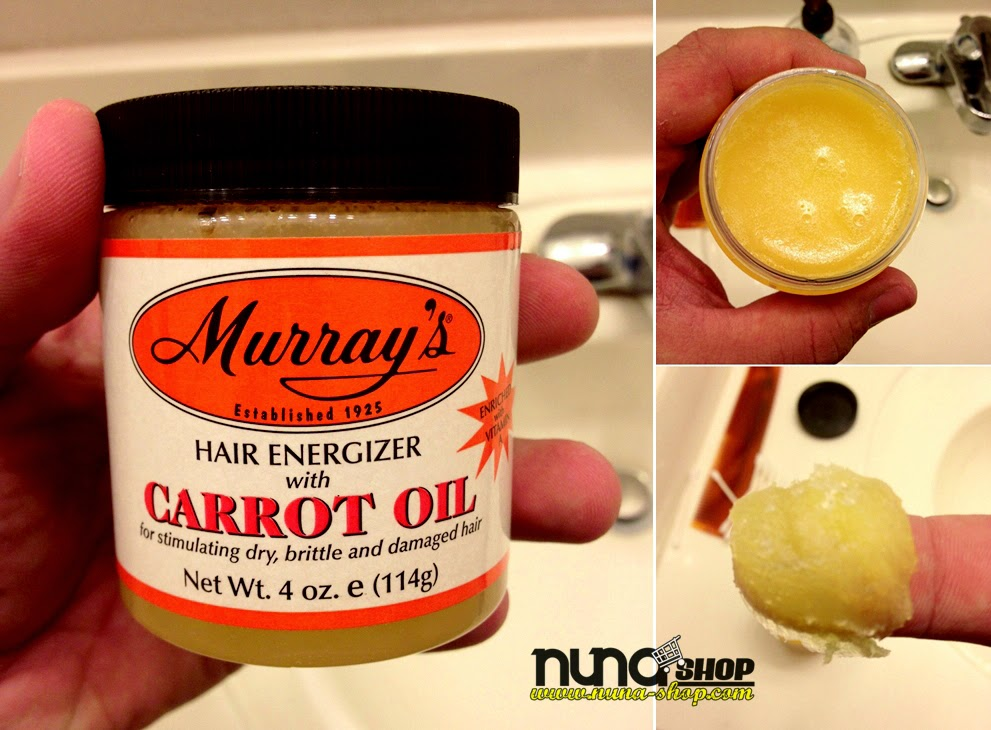 Energizing Hair Treatment with Carrot Oil and Beeswax