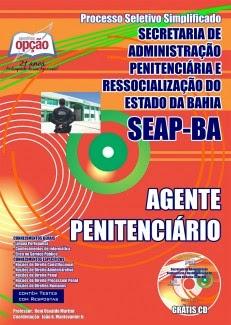 Apostila concurso reda para agente penitenciário da  Secretaria de Administração Penitenciária da Bahia 2014