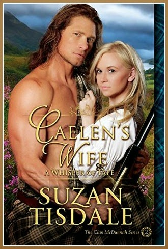 book-review-caelens-wife-book-2-a-whisper-of-fate-clan-mcdunnah-by-suzan-tisdale