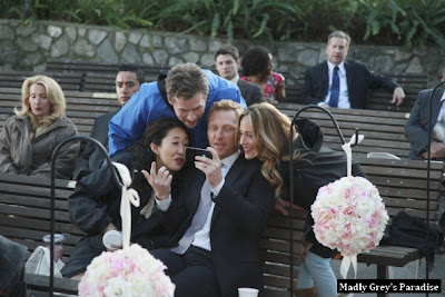 behind the scenes grey's anatomy sandra oh kevin mckidd kim raver james tupper