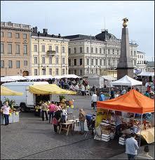 Hauppatori o plaza del mercado de helsinki
