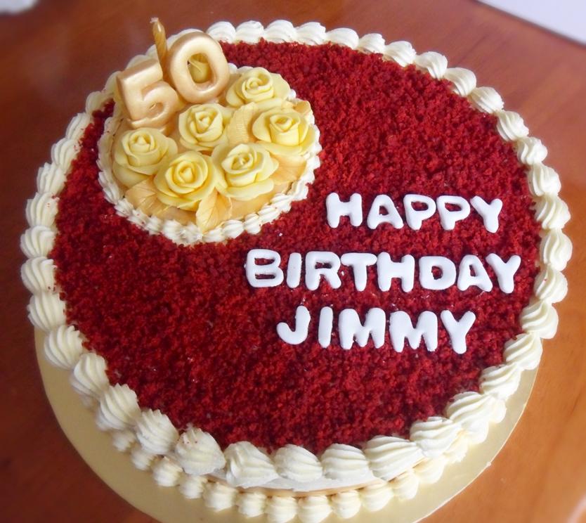 Birthday cakes, Red velvet cakes and Cake images on Pinterest