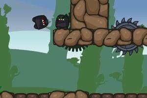 Spring Ninja FLASH GAME