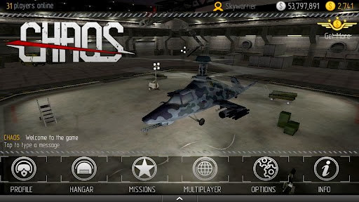 C.H.A.O.S Multiplayer Air War Apk v5.2.1 with SD Data
