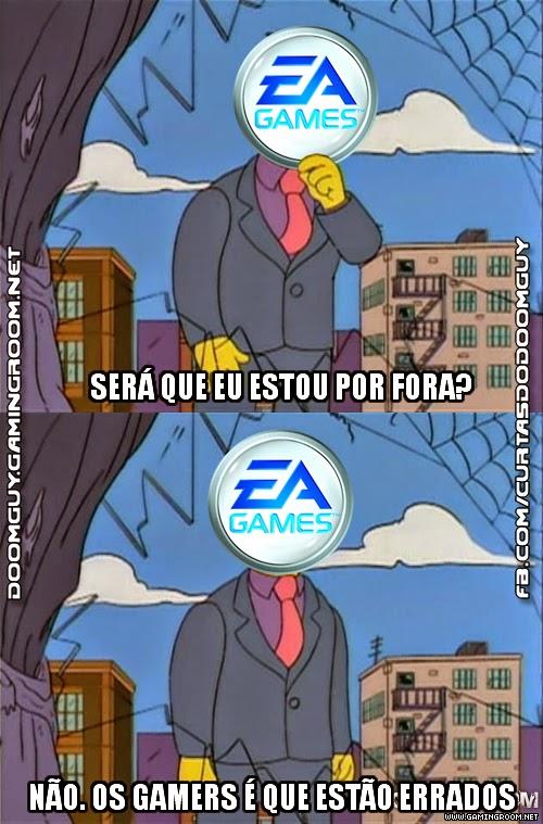 EA Pensando Porque Seus Títulos Não Emplacam