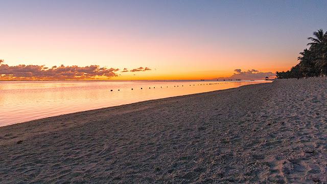 tramonto sunset isola mauritius isole maurizius