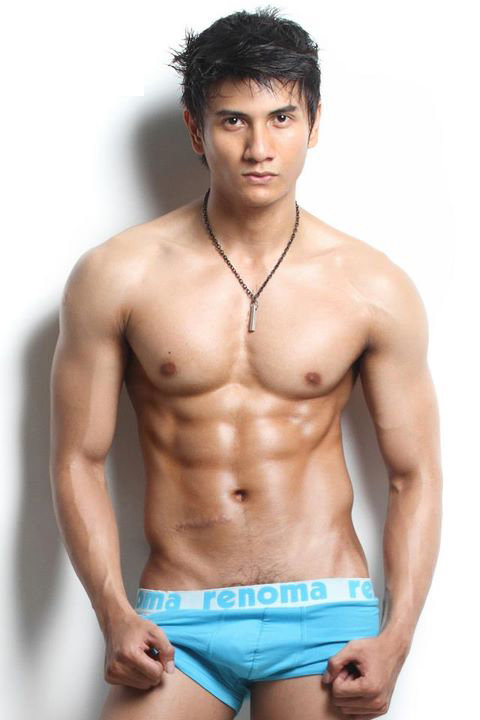 More Photo of him click Male Model Underwear Model Hottest Asian Male ...