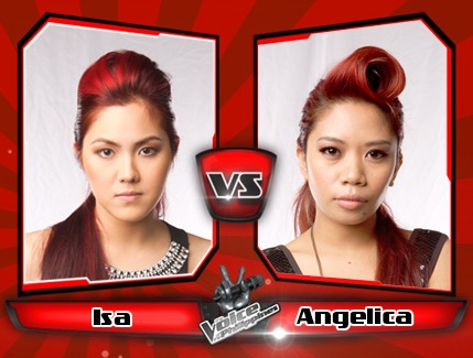 Angelica Prado vs Isa Fabregas | The Voice of the Philippines Battle Rounds
