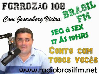 FORROZÃO 106 COM JOSEMBERG VIEIRA