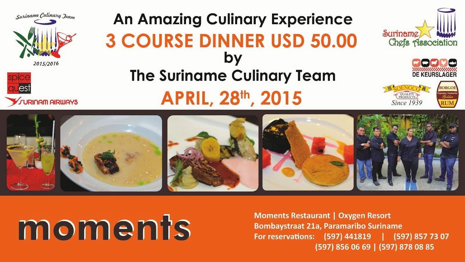 An Amazing Culinary Experience at Moments!