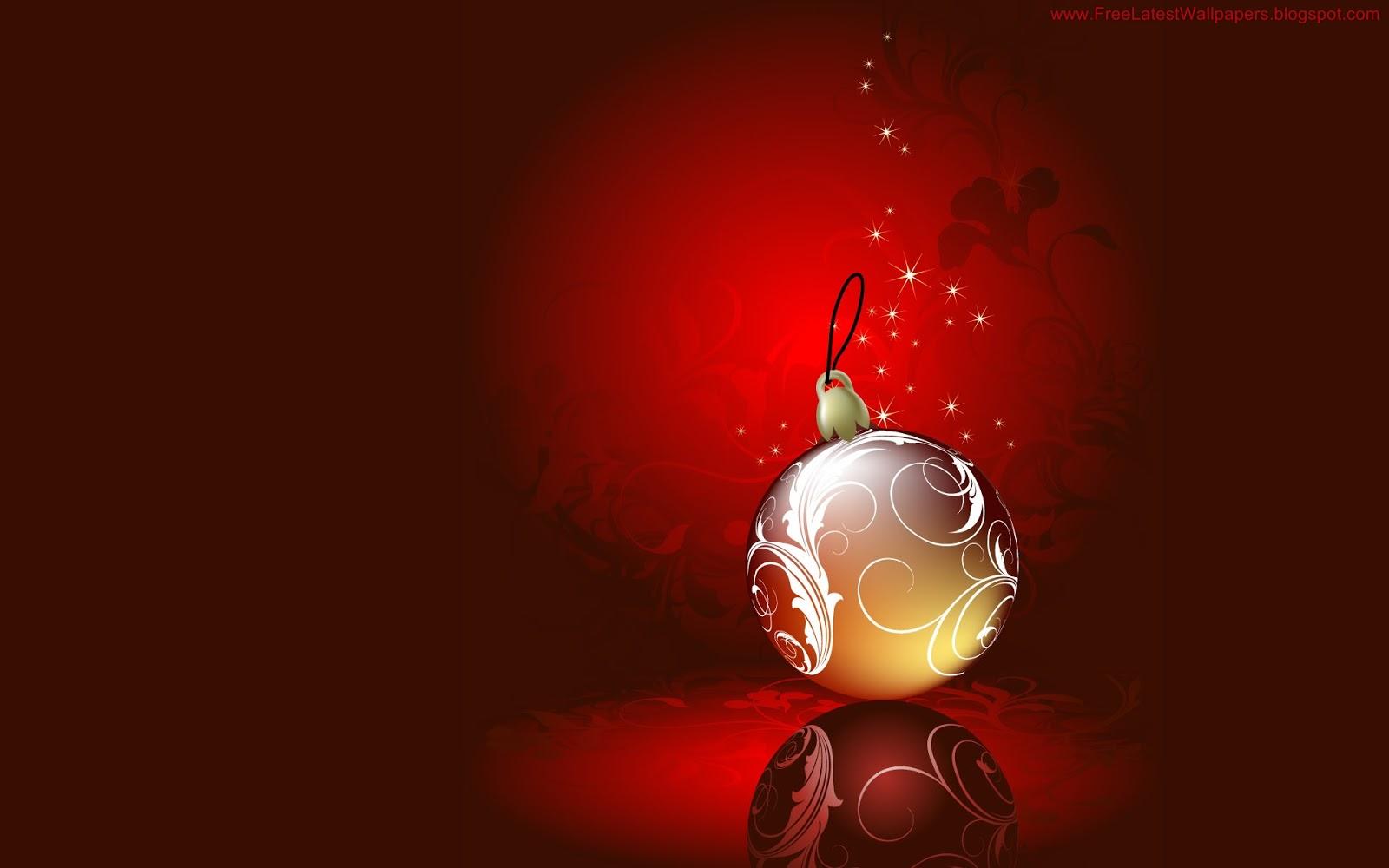 Wallpapernarium bola de navidad dorada - Bolas de navidad doradas ...