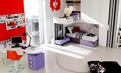 dormitorio música joven