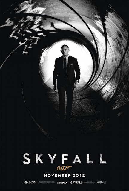 skyfall, james bond, 007 movie poster, daniel craig