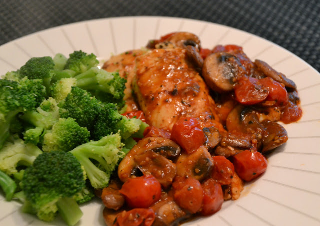 ... mushrooms recipe review chicken with grape tomatoes and mushrooms
