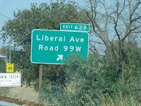 Liberal Avenue, Tehama County